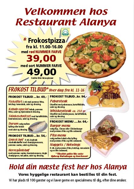 alanya aars menu